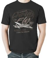 Fly T Shirt Inspired Men S Learn Learning Tom Petty Mens Vehicles Aircraft Fight