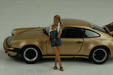 Mechaniker Mechanic Girl Sofie Figur Figurines 1:24 Figures American Diorama