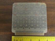 Vintage Transistor Prototyping Circuit Board Card With Edge Connector NOS