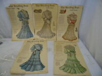 Original Antique Newspaper NY Sunday Sun Fashion Model Supplement February 1905