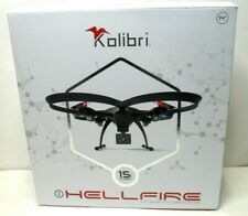 Kolibri Hellfire Quadcopter Drone Wide Angle Camera with Live Video New in box