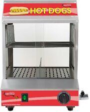 Commercial Machine Bun Food Electric Hot Dog Steamer Warmer 175 Dog 40 Bun Resto