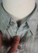 Rare Vtg 80s 90s Ralph Lauren Chaps Polo Tab Collar Dress Shirt Boy Scout Tag L