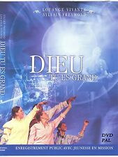 DVD Dieu Tu es Grand (Musique-Sylvain Freymond & JEM) DVD PAL (French Only)
