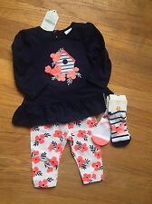 Gymboree Baby Girl 3-6 M Outfit 4 Pieces Bird Theme NWT Free Shipping