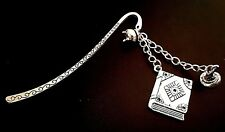 Harry Potter Inspired BOOK OF SPELLS Bookmark. Book mark gift. UK seller