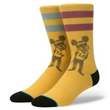 Stance x Disney Mickey Mouse POPE MOUSE Crew Socks Men's Size Large 9-12