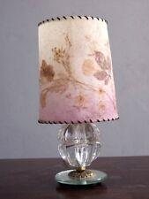 petite lampe de Chevet pied cloisonné cristal