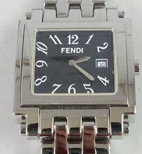 Fendi Woman's Watch Square Face F215270 5910203 **NEEDS BATTERY**