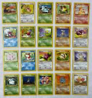 Pokemon Jungle Card Lot - Uncommon/Common/Trainer - 22 Cards - /64