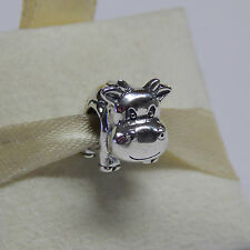 New Authentic Pandora Charm Sterling Silver Cow Bead 790565 Box Included