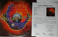 """SIGNED JOURNEY & STEVE PERRY AUTOGRAPHED INFINITY 12"""" LP CERTIFIED JSA # ZO5922"""