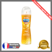 Lubrifiant Gel Intime Durex Chauffant / Hot / Warming 50 ml Lubrifie