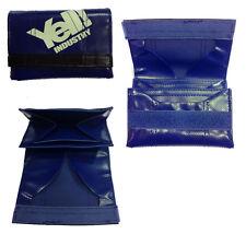 Herren Geldbeutel aus Kunstleder blau YELL Industrie 12x8 cm