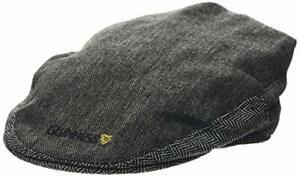 Guinness Men's Gry Tweed Flat Cap, Grey (Grey Grey), Large (Size: L)