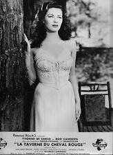 Photo originale Yvonne De Carlo Frontier Gal Western lingerie