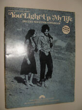 You Light Up My Life 1977 Deluxe Souvenir Songbook Didi Conn 10 selections