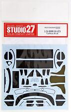 Studio27 ST27-CD24009 BMW Z4 GT3 Carbon Decal Set for Fujimi 1/24