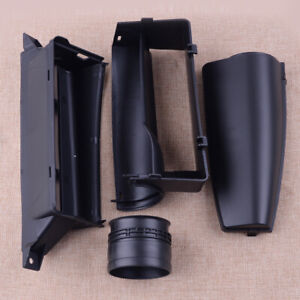 4Pcs Car Engine Air Intake Cover Guide Inlet Duct Parts Fit For VW Passat B6 CC