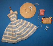 Vintage Barbie Casi Completo Suburban Shopper #969 Rosa Teléfono Metal Esfera