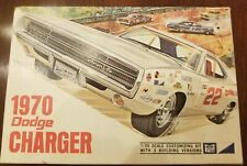 Mpc 1970 Dodge Charger Complete model kit Rare #770-220