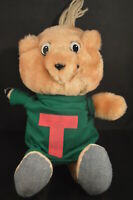 """Classic THEODORE PLUSH DOLL 12"""" Alvin and the Chipmunks VG+ cartoon TV movie toy"""