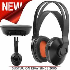 One For All HP1020 Wireless TV Headphones│On Ear│100m Range│Suit For iPod / iPad