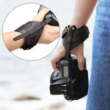LYNCA VDS7 Leather Belt DSLR Camera Wrist Grip Strap For Nikon Canon Sony