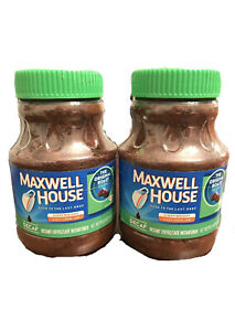 Maxwell House Instant Decaf Coffee Discontinued 8 Oz. Cannisters (2 Pack)