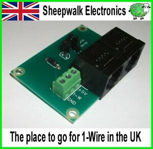 SWE1 1-Wire Temperature Sensor Module DS18B20 DS18S20 OWFS