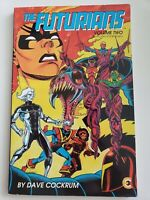THE FUTURIANS Volume 2 TPB COLLECTION ETERNITY COMICS 1987 RARE! DAVE COCKRUM
