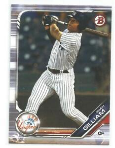 Isiah Gilliam New York Yankees 2019 Bowman Draft