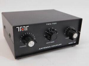 Ten-Tec 291 Ham Radio HF Manual Antenna Coupler Tuner (works great)