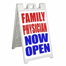 Family Physician Signicade 24x36 Aframe Sidewalk Sign Banner Decal Now Open
