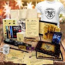 PERSONALISED HARRY POTTER ACCEPTANCE LETTER T SHIRT BAG BOX WAND QUILL SET