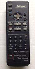 ADMIRAL G0200AJSA REMOTE CONTROL for VCR JSJ-20447, GENUINE, ORIGINAL, WORKING