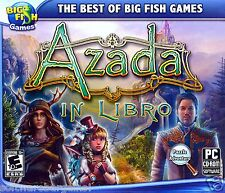 BIG FISH GAMES: AZADA IN LIBRA: SAVE THE 3 WORLDS. NEW. SHIPS FAST / SHIPS FREE!