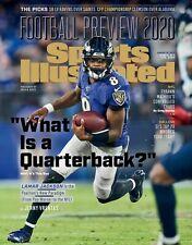 Lamar Jackson Baltimore Ravens Sports Illustrated cover photo - select size