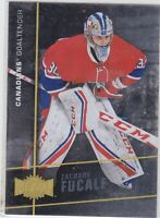 15/16 FLEER SHOWCASE...ZACHARY FUCALE...METAL UNIVERSE...ROOKIE...CANADIENS