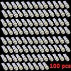 100x T10 5050 W5W 5 SMD 194 168 LED White Car Side Wedge Tail Light Lamp Bulb s