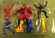 Lot of Power Rangers Jungle Fury Animalized Figure bandai 2007