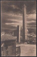 AX3941 Bologna 1923 - Le dueTorri - Cartolina postale - Postcard