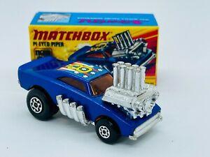 Matchbox Superfast #48 Pi-Eyed Piper, custom Dodge Charger hot rod