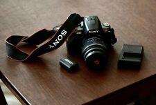 Sony Alpha DSLR-A380 14.2MP Digital SLR Camera - Black (Kit w/ DT SAM 18-55mm...