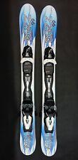 BUZZ Atom ICE - 99 cm Skis inc Release Bindings Snowblades mini ski blades