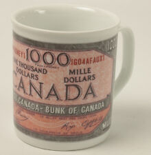 Canada Fake Money Mug Elizabeth II 1000 Dollar Note New