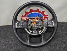 19 20 Ram 1500 black leather steering wheel oem laramie