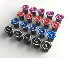 Road MTB Bike Aluminum Expander flat bar Handlebar Grips Bar top Cap End Plugs