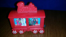 McDonalds 2017 Happy Meal COLLECTIBLE Holiday Express Train Car #10 BARBIE EUC