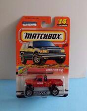 1999 Mattel Wheels Matchbox To The Beach Ford F-150 4x4 #14